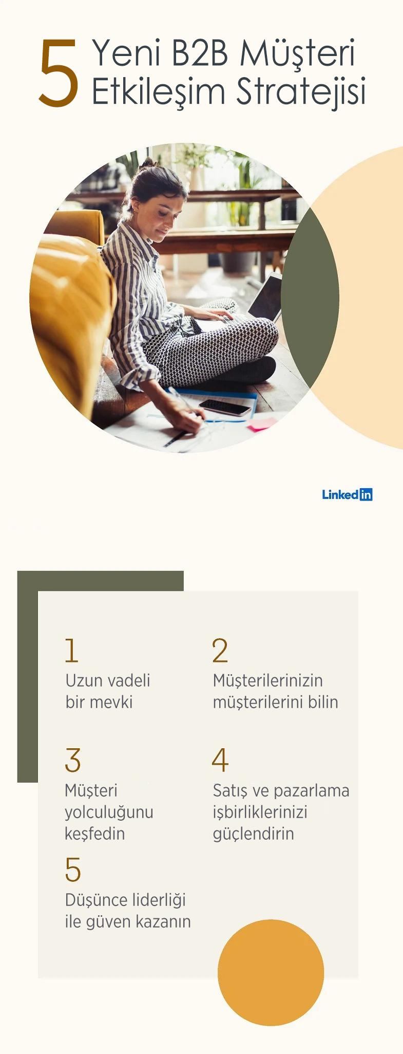 LinkedIn'de Etkinleştirilecek 5 Yeni Müşteri Bağlılığı Stratejisi -part1