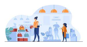 Alışveriş merkezi vektör