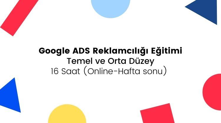 online google ads reklamcılığı eğitimi